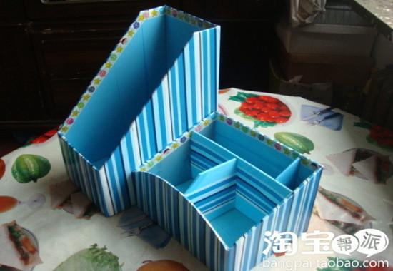 創意DIY 巧制廢棄首飾和小物件收納品9.