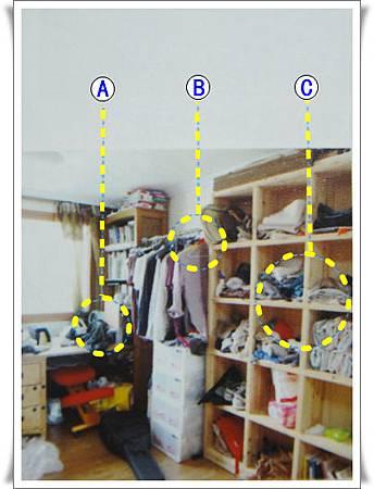 p79不適合不會整理的人開架式傢俱