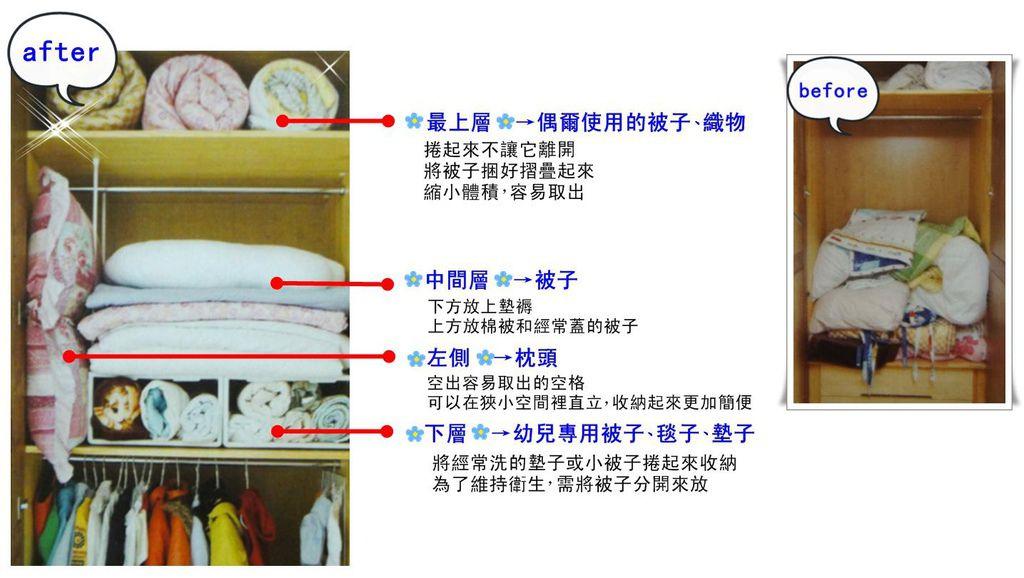 p83 整理寢具