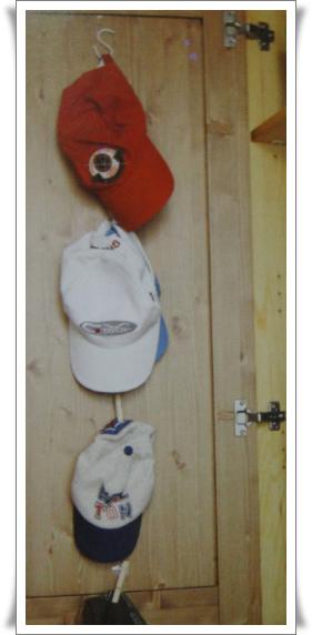 p93 使用掛鉤的帽子架