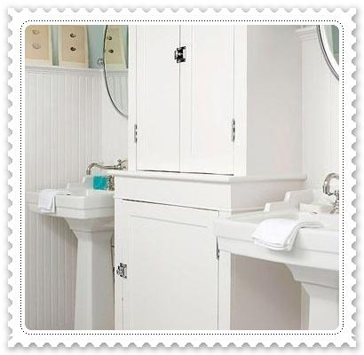 掃除雜亂 小浴室自製收納箱1.