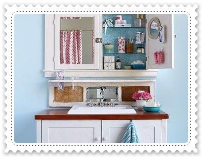 掃除雜亂 小浴室自製收納箱5.