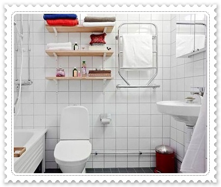 掃除雜亂 小浴室自製收納箱4.