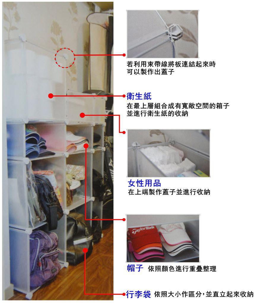 p101 製作帽子、行李袋收納箱4.