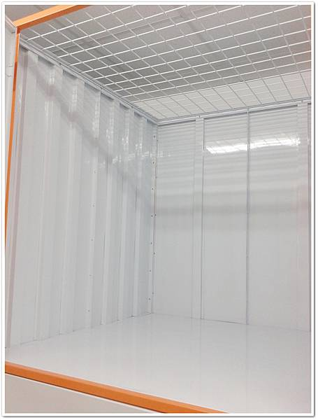 易儲居L型櫃透氣網