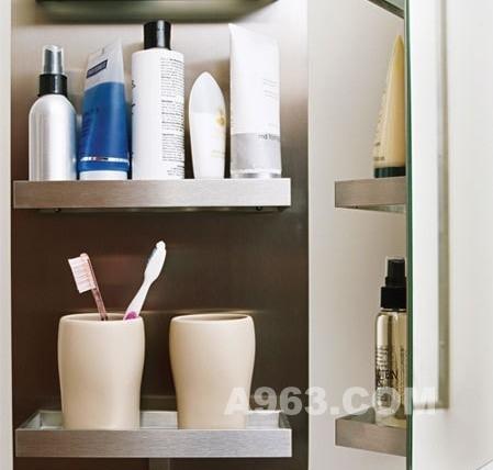 選對工具浴室收納事半功倍4.