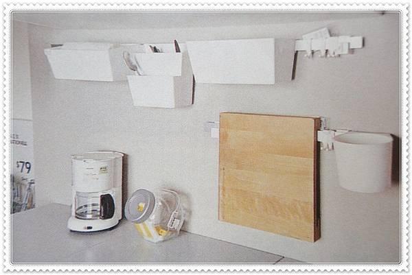 收納產品 百元商品 收納魔法300招--廚房壁面小物收納 (1).JPG