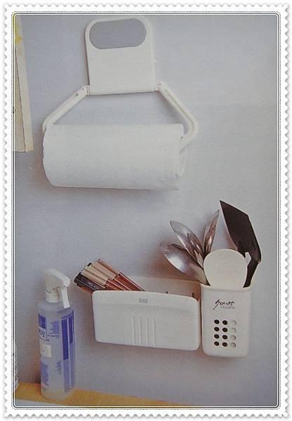 收納產品 百元商品 收納魔法300招--廚房壁面小物收納 (8).JPG