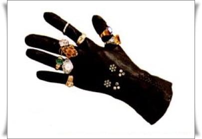 手套戒指收納魔法