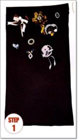 棉布胸針收納魔法1.