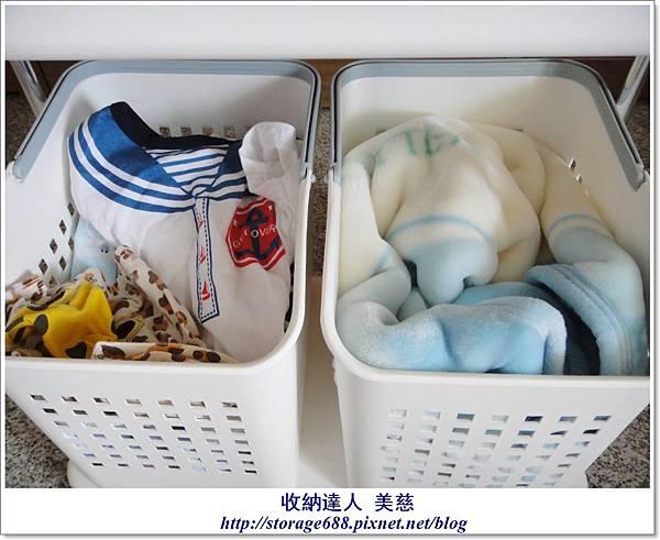 雙層三格衣物收納籃 (寶寶用品+寶寶髒衣服) (3).JPG