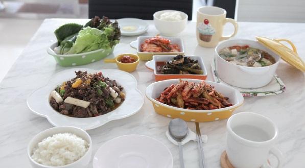 1. 一餐菜單 = ①湯料理 +②肉類料理+③蔬菜料理