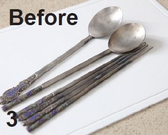 輕鬆讓銀製湯筷恢復光彩3.Before.jpg