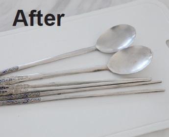 輕鬆讓銀製湯筷恢復光彩3.After.jpg