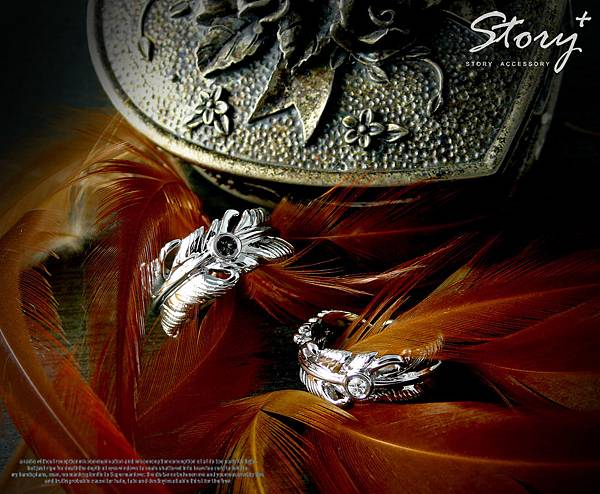 STORY ACCESSORY 銀飾 戒指
