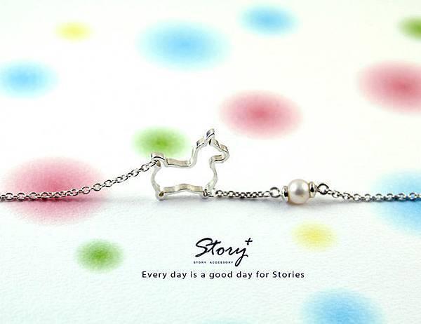 STORY ACCESSORY, 故事銀飾, 925 純銀, 訂做, 字母項鍊, rody, 跳跳馬, 魯迪,jewelry,授權,獨家