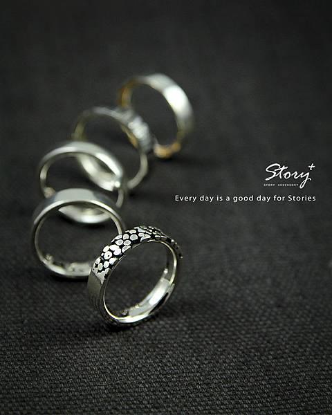 STORY ACCESSORY, 故事銀飾, 925 純銀, 尾戒,五行尾戒,男性,男戒