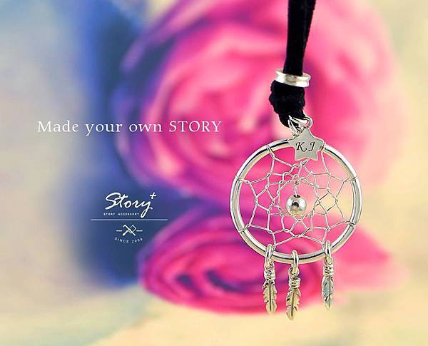 STORY ACCESSORY, 故事銀飾, 925 純銀, 訂做, 字母項鍊,創客,自做,銀飾課程
