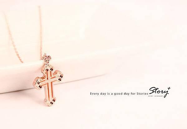 STORY ACCESSORY, 故事銀飾, 925 純銀, 訂做, 字母項鍊, kikilala, Little Twin Stars, 雙星仙子, 三麗鷗, sanrio,十字架,信仰,項鍊