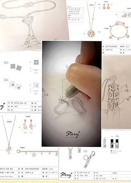 清流文創, STORY ACCESSORY, 故事銀飾, 我的御用設計師, 珠寶,設計師,客製化,銀飾,品牌, 經營,人格化,IP