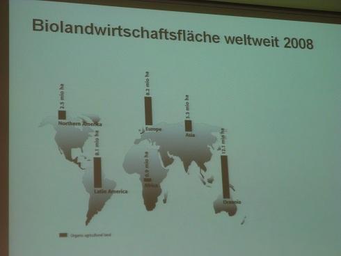 全球有機葡萄酒產量