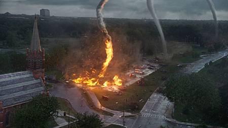 火焰龍捲風