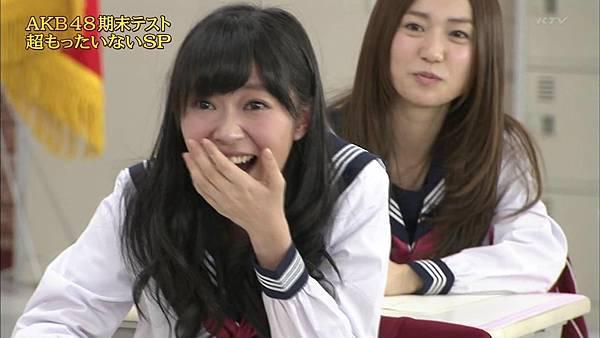 【东京不够热】130518 めちゃ2イケてるッ!AKB48学历测验 未公开部分_201352112043