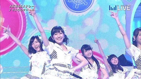 【东京不够热】130706 音楽のちから AKB48系全场剪辑版_2013711205637