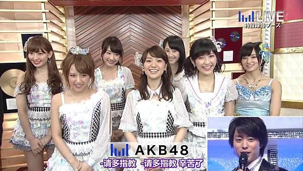 【东京不够热】130706 音楽のちから AKB48系全场剪辑版_201371121349