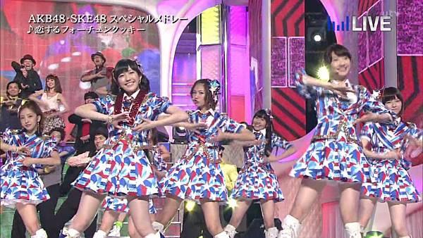 【东京不够热】130706 音楽のちから AKB48系全场剪辑版_2013711215730