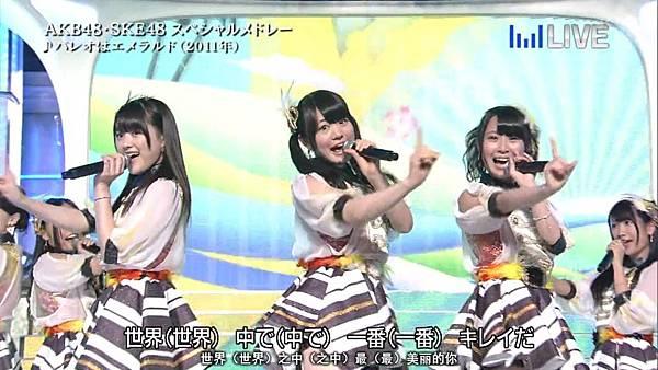 【东京不够热】130706 音楽のちから AKB48系全场剪辑版_201371123340