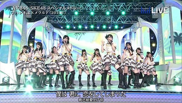 【东京不够热】130706 音楽のちから AKB48系全场剪辑版_201371123421