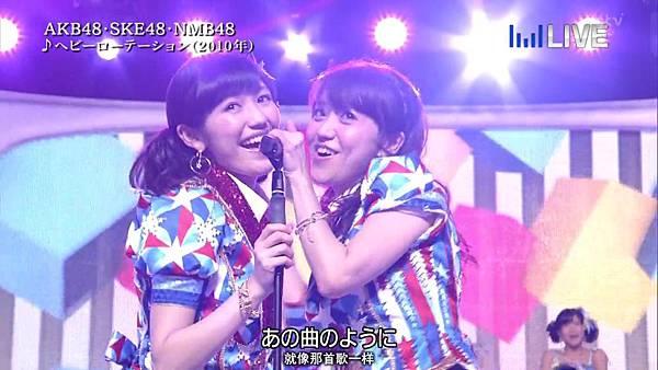 【东京不够热】130706 音楽のちから AKB48系全场剪辑版_2013711232113