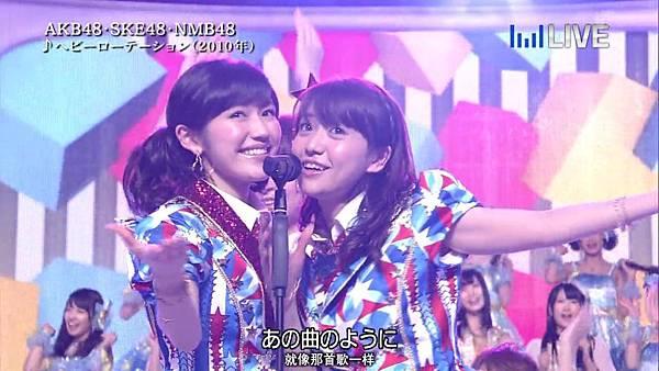 【东京不够热】130706 音楽のちから AKB48系全场剪辑版_2013711232153