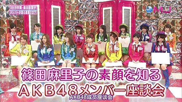 【东京不够热】130711 Music Japan AKB48座谈会—篠田麻里子sp(talk+live)_2013713211017