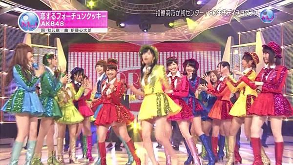 【东京不够热】130711 Music Japan AKB48座谈会—篠田麻里子sp(talk+live)_2013713215735