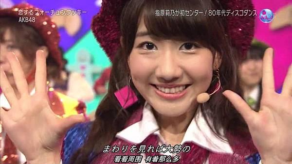 【东京不够热】130711 Music Japan AKB48座谈会—篠田麻里子sp(talk+live)_20137132218