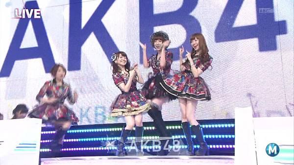 【东京不够热】130712 Music Station 篠田麻里子毕业sp 剪辑版_2013713231048