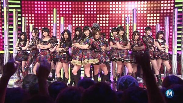 【东京不够热】130712 Music Station 篠田麻里子毕业sp 剪辑版_2013715211324