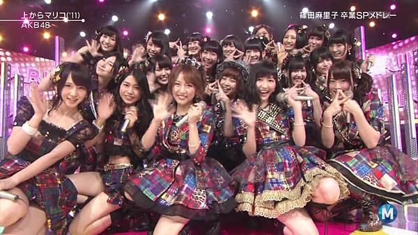 【东京不够热】130712 Music Station 篠田麻里子毕业sp 剪辑版_2013715211822