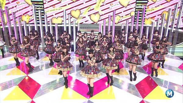 【东京不够热】130712 Music Station 篠田麻里子毕业sp 剪辑版_2013715214644