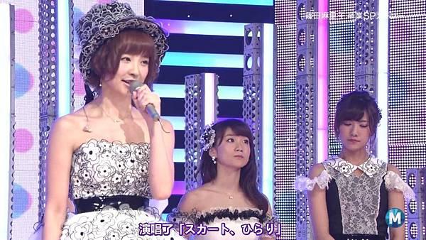 【东京不够热】130712 Music Station 篠田麻里子毕业sp 剪辑版_2013715214947