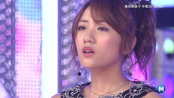 【东京不够热】130712 Music Station 篠田麻里子毕业sp 剪辑版_201371523522