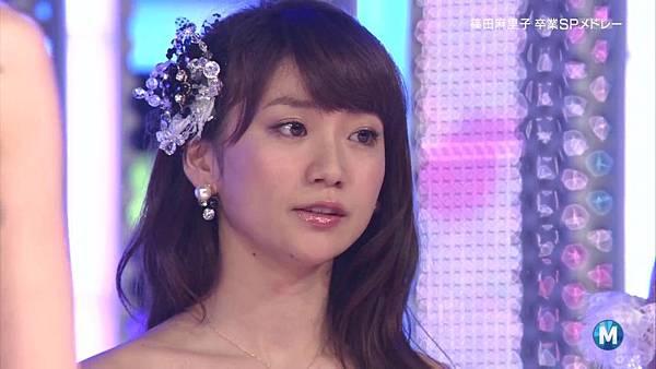 【东京不够热】130712 Music Station 篠田麻里子毕业sp 剪辑版_201371523541
