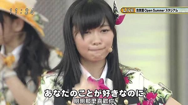 [豆乳字幕組]130713 AKB48×めざまし お台場合衆国開国SP_2013724132618