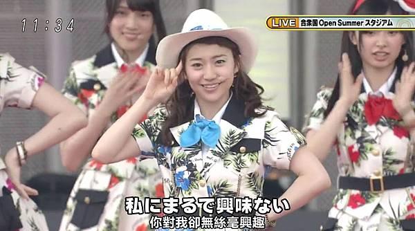 [豆乳字幕組]130713 AKB48×めざまし お台場合衆国開国SP_2013724132751