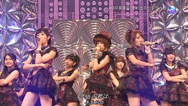 【东京不够热】130725 Music Japan 篠田麻里子毕业sp (下)_2013727233127