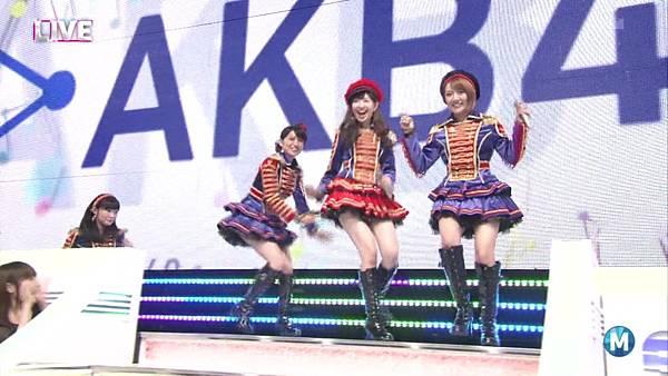 【东京不够热】130927 Music Station AKB48 剪辑版_2013101162155