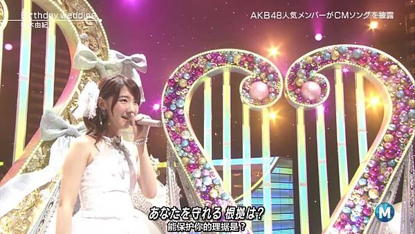 【东京不够热】130927 Music Station AKB48 剪辑版_2013101163620