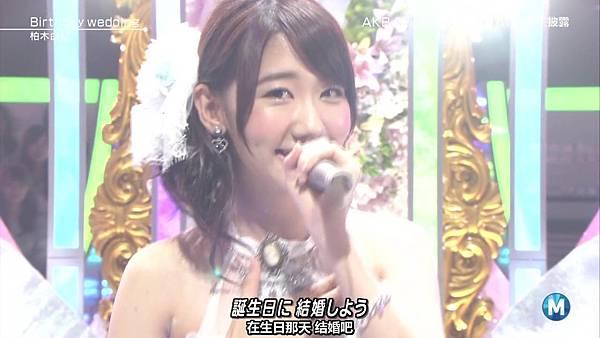 【东京不够热】130927 Music Station AKB48 剪辑版_2013101163825